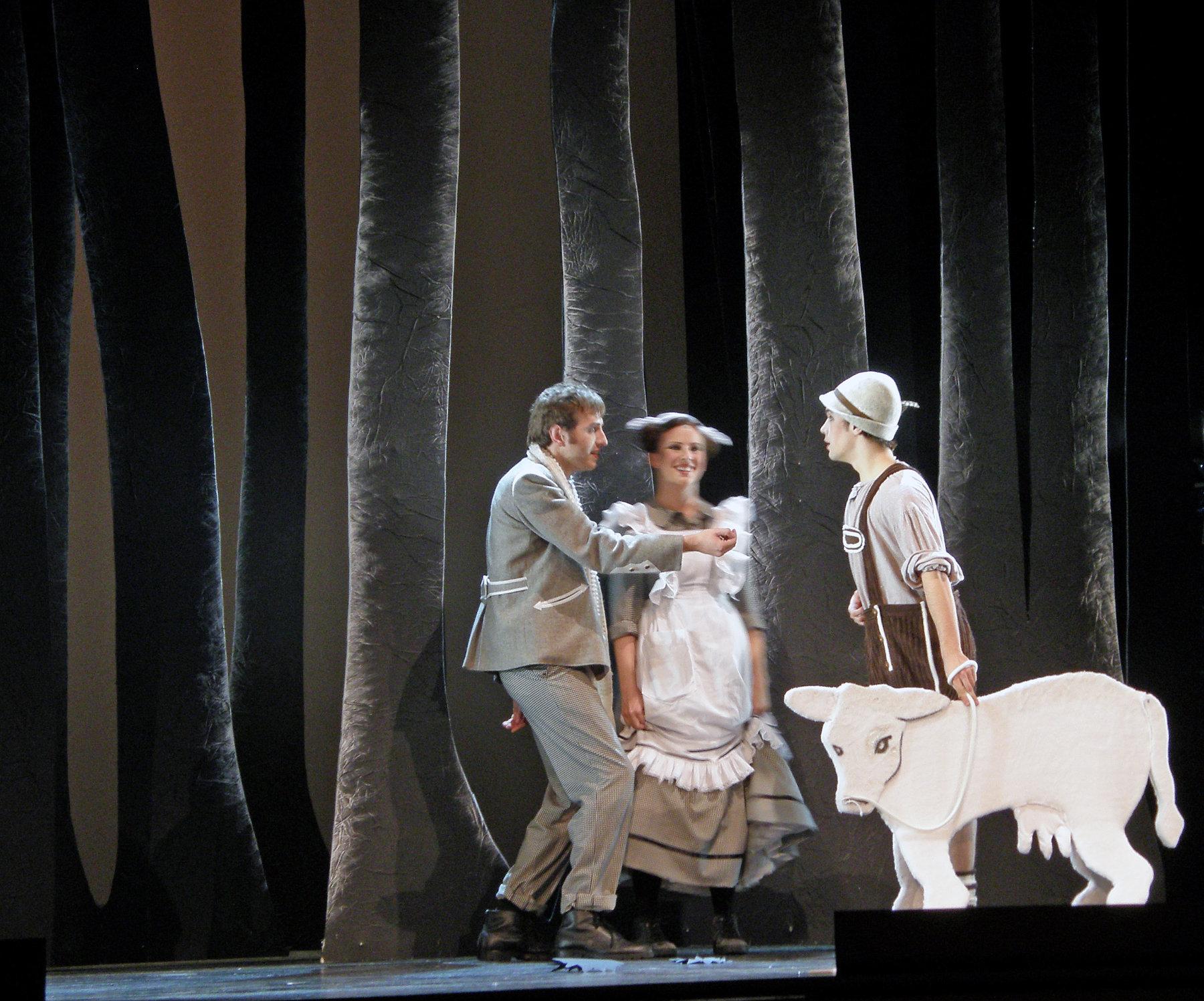 2009 // Bühnenbild und Kostüme für Into the Woods / Sondheim / Regie: Gil Mehmert / Theater Hagen