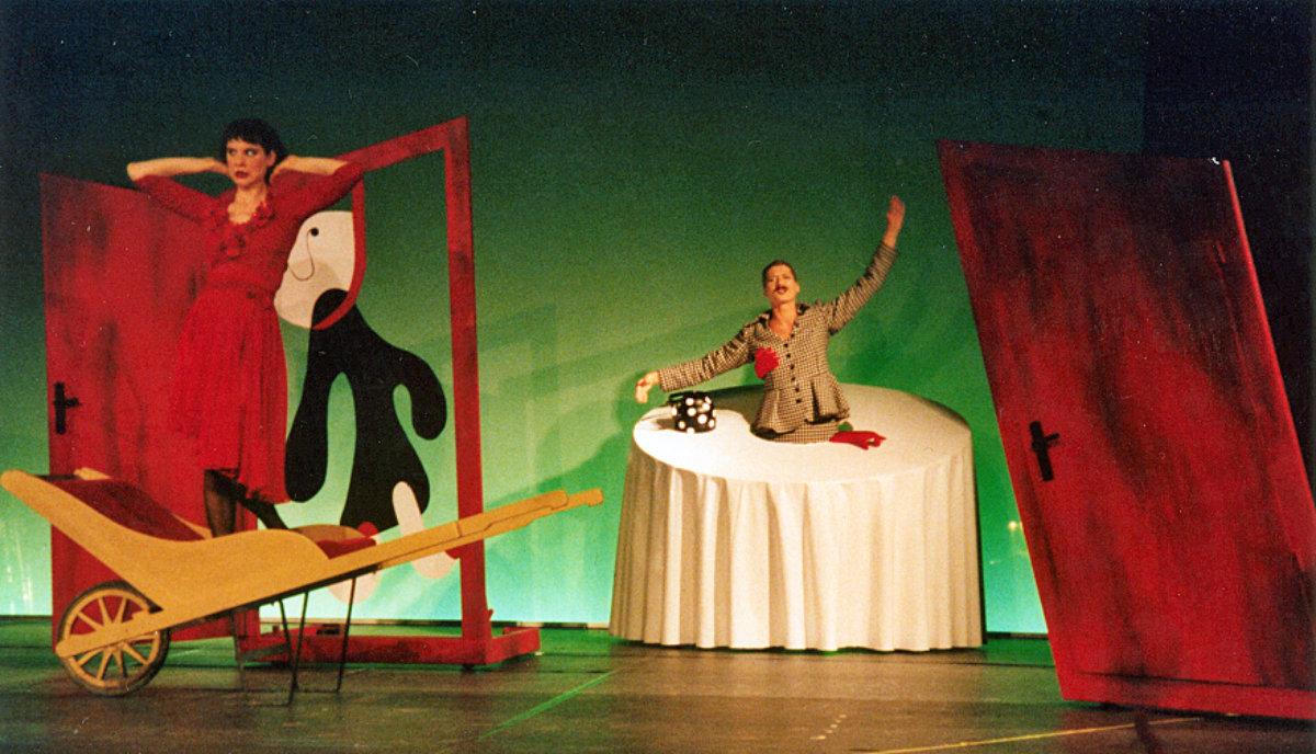 2007 // Trilogie Der wunderbare Fernflug, Die Tränen des Messers, Küchenrevue