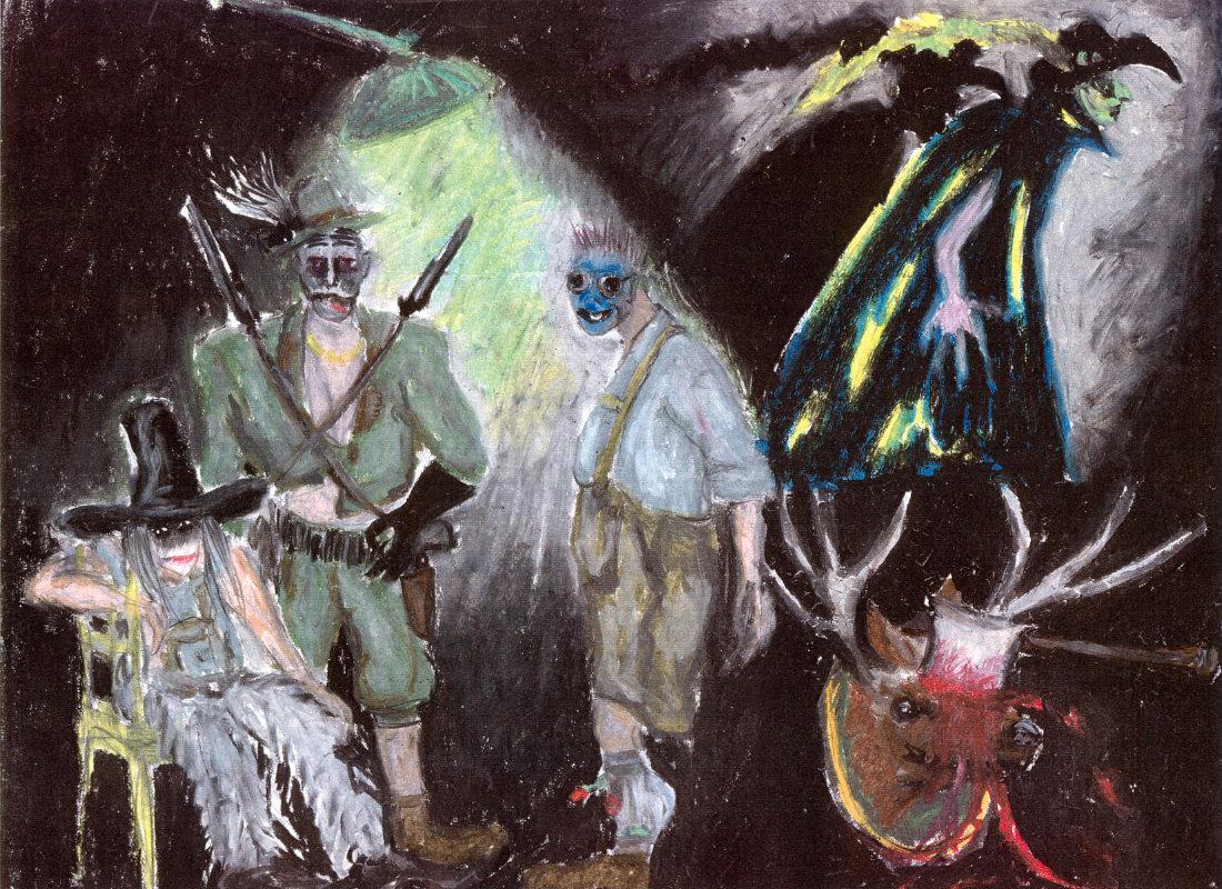 1997 // Kostüme für The black rider / Waits, Burroughs / Regie: Gil Mehmert / Hans Otto Theater Potsdam