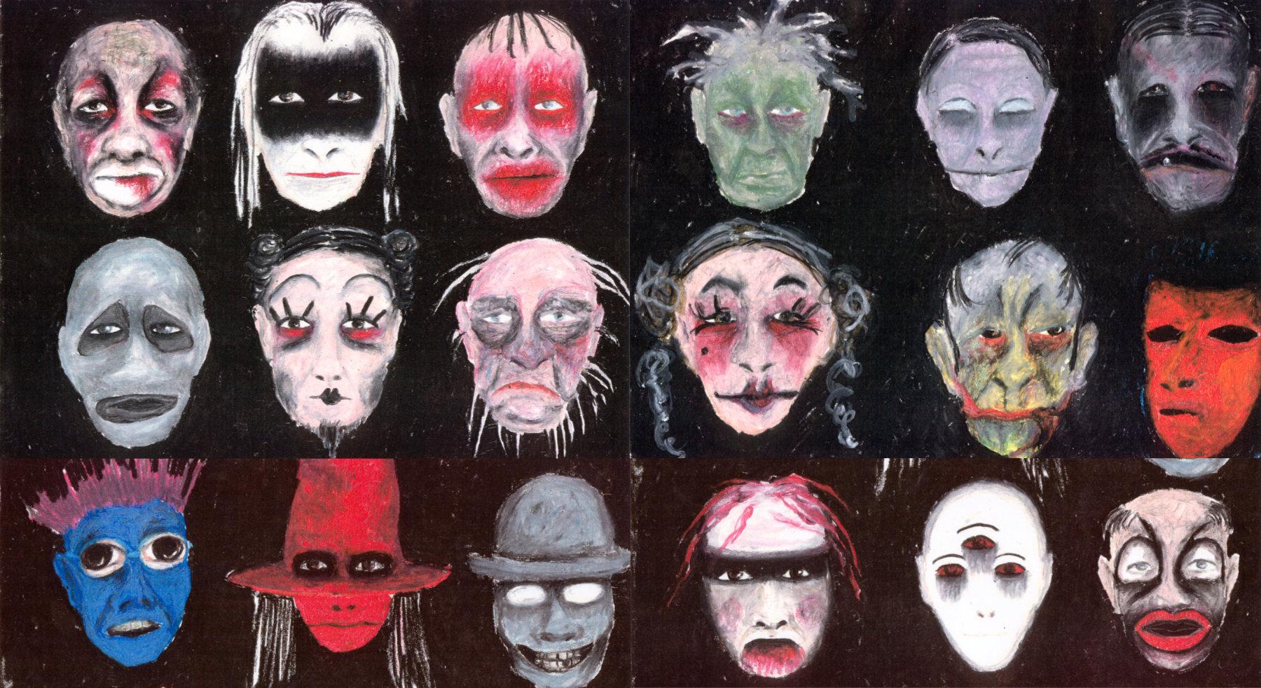 Kostüme für The black rider / Waits, Burroughs / Regie: Gil Mehmert / Hans Otto Theater Potsdam